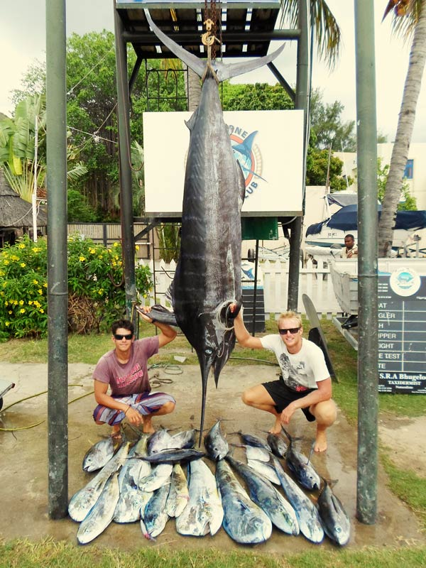 From small game fishing to big game fishing in mauritius for Wsbtv fish and game