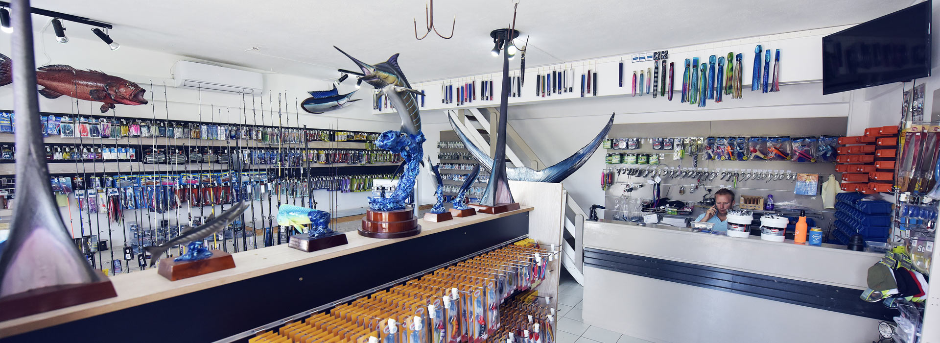 Fishing Guru - Our fishing shop in Black River, Mauritius