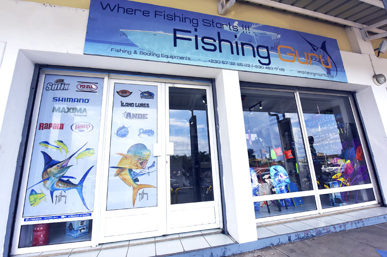 The Shop Front - Fishing Guru - Black River - Mauritius